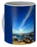 Oh The Beauty  Monterey Peninsula Ca  Coffee Mug