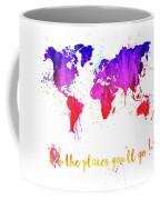 Oh The Places Coffee Mug