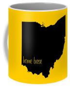 Ohio Is Home Base Black Coffee Mug