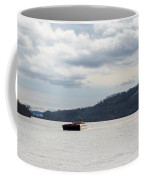 Ohio River Barge  Coffee Mug