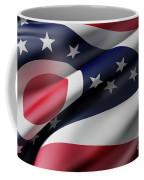 Ohio State Flag Coffee Mug