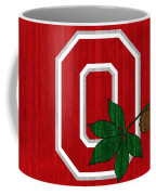 Ohio State Wood Door Coffee Mug