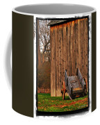 Ohio Wheelbarrel In Autumn Coffee Mug