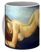 Oil Model Painting Coffee Mug
