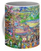 Oil On Sharpie Surrealistically Coffee Mug