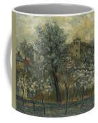 Oil Painting House Tree Coffee Mug