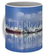 Oil Refinery Industry Plant Coffee Mug