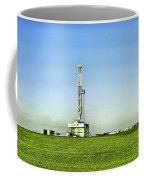 Oil Rig In North Dakota Coffee Mug