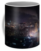 Oil Style City At Night Image Coffee Mug