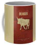 Oklahoma State Facts Minimalist Movie Poster Art Coffee Mug