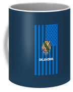 Oklahoma State Flag Graphic Usa Styling Coffee Mug