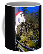 Old 1886 Mill Coffee Mug by Karen Wiles