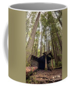 Old Abandoned Cabin In The Woods Coffee Mug