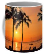 Old Airport Beach Sunset Coffee Mug