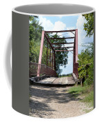Old Alton Bridge In Denton County Coffee Mug