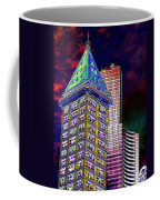 Old And New Seattle 2 Coffee Mug