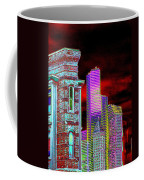 Old And New Seattle Coffee Mug