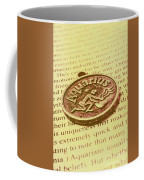 Old Aquarius Astrology Coffee Mug