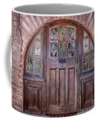 Old Arched Doorway-tucson Coffee Mug