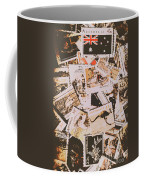 Old Australia In Stamps Coffee Mug