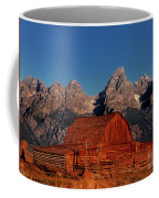 Old Barn Grand Tetons National Park Wyoming Coffee Mug by Dave Welling