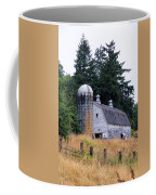 Old Barn In Field Coffee Mug