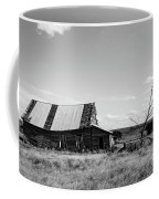 Old Barn With Tree Coffee Mug