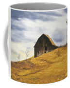 Old Barn With Windmill Coffee Mug