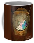 Old Basket New Yarn Coffee Mug