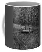 Old Bench Concord Massachusetts Coffee Mug