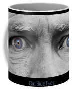 Old Blue Eyes Poster Print Coffee Mug
