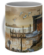 Old Boathouse Coffee Mug
