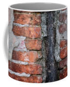 Old Brick Wall Abstract Coffee Mug