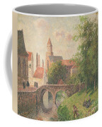 Old Bridge In Bruges  Coffee Mug by Camille Pissarro