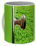 Old Brown Doorknob Coffee Mug