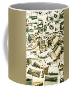 Old Business Wires Coffee Mug