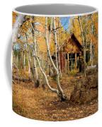Old Cabin In The Aspens Coffee Mug