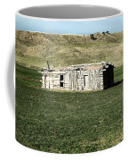 Old Cabin On The Plains Coffee Mug