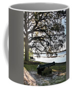 Old Cannon By The Sea Coffee Mug