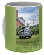 Old Car In Front Of House Coffee Mug