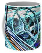 Old Car Wheel Coffee Mug