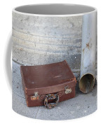 Old Cardboard Suitcase In The Street Coffee Mug