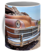 Old Cars In The Desert, Eldorado Canyon, Nevada Coffee Mug by Edward Fielding