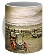 Old Case Tractor Coffee Mug