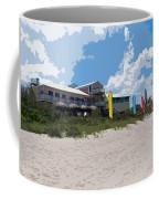 Old Casino On An Atlantic Ocean Beach In Florida Coffee Mug