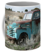 Old Chevy Farm Truck In The Field Coffee Mug