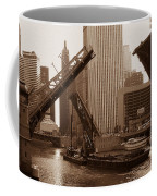 Old Chicago River Bridges Coffee Mug