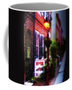 Old City Streets - Elfreth's Alley Coffee Mug by Bill Cannon