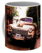 Old Classic Dodge, On The Streets Of Buenos Aires Coffee Mug