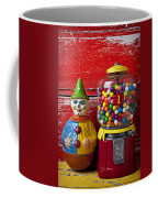 Old Clown Toy And Gum Machine  Coffee Mug by Garry Gay